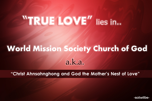 World Mission Society Church of God
